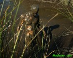 muddy man in the swamp